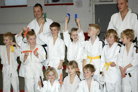 Gele slip judo