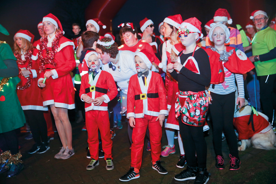 Doe mee aan de Santa Run